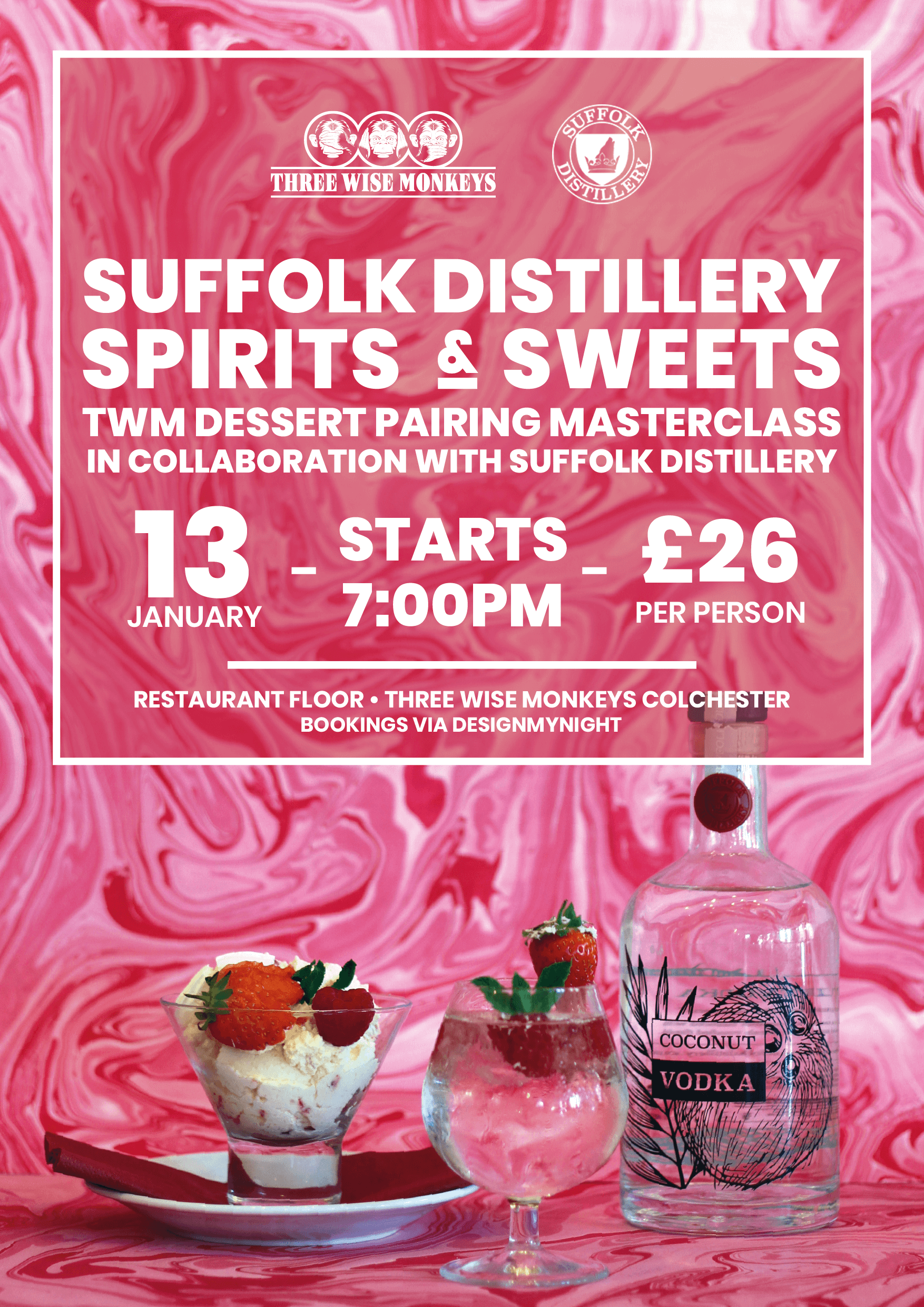 Suffolk Distillery Spirits & Sweets