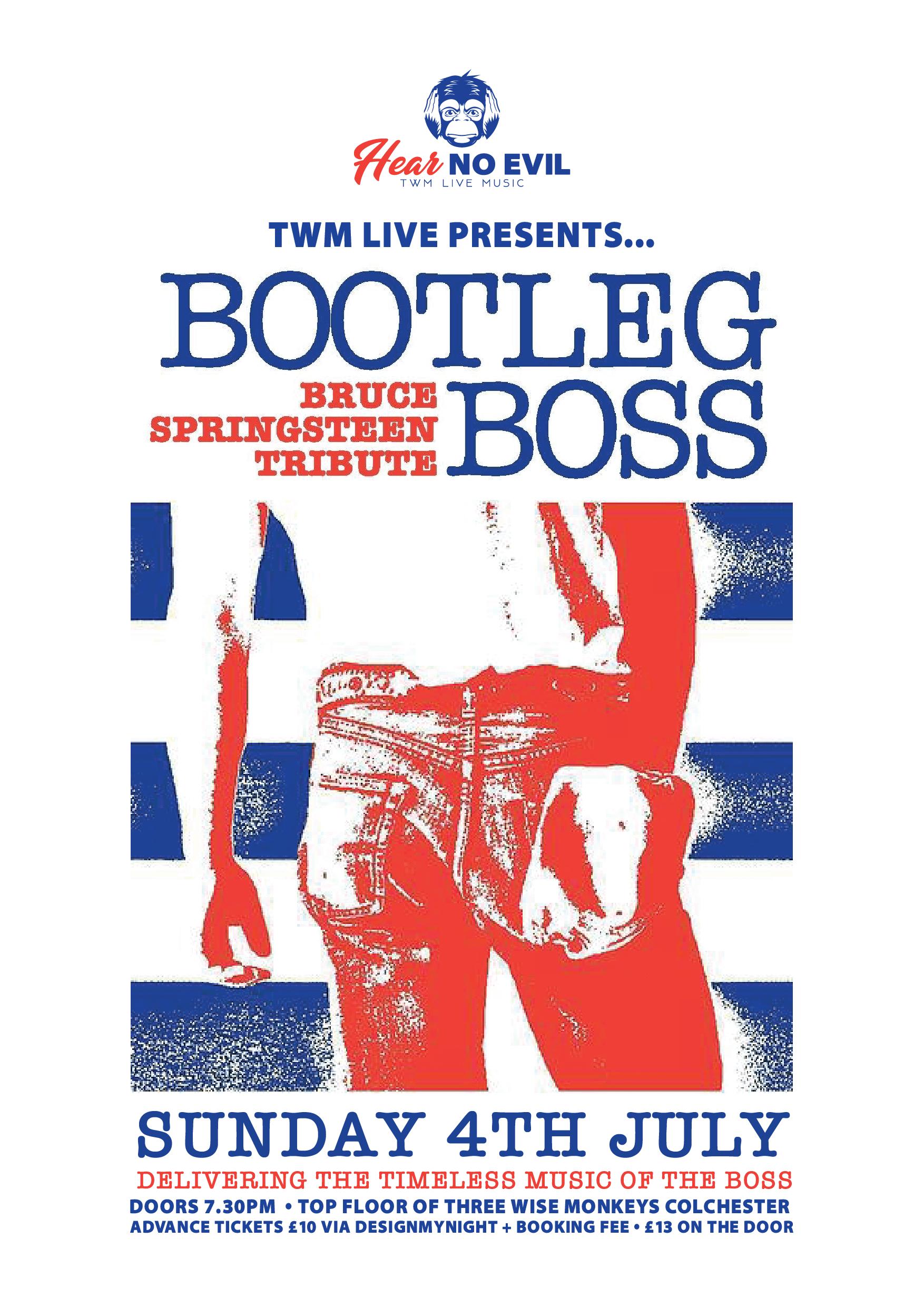 Bootleg Boss Poster