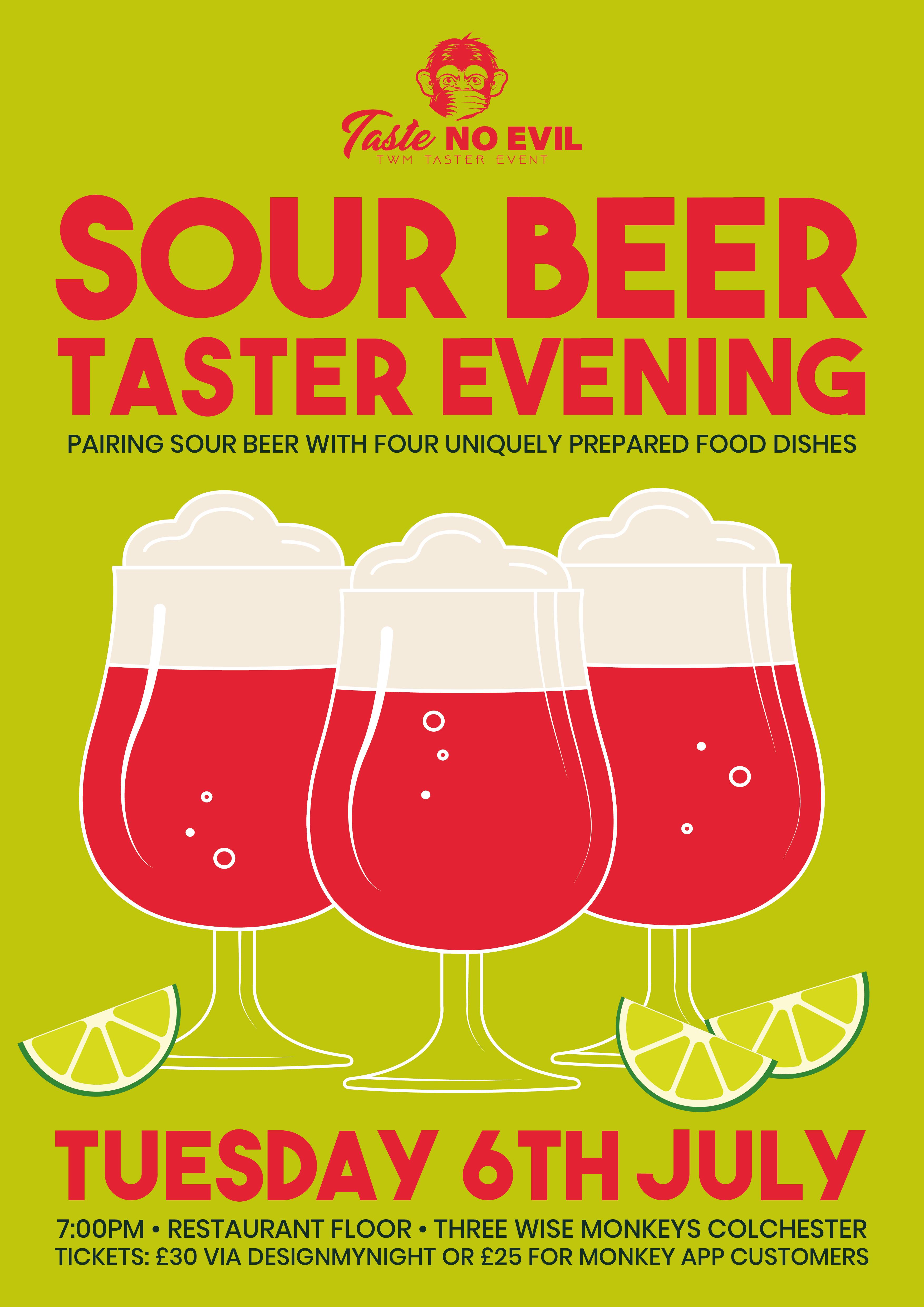 Sour Beer Taster Evening
