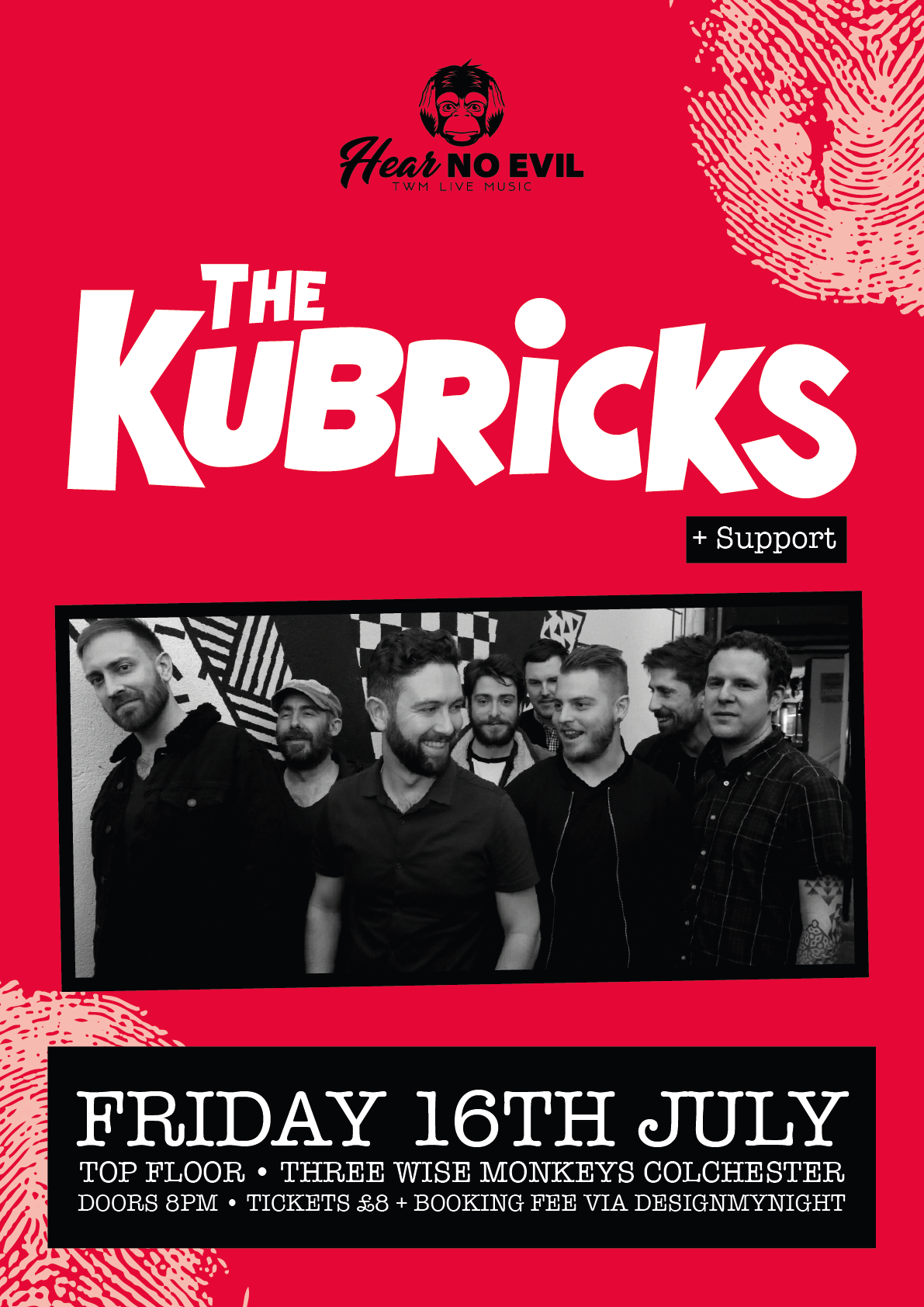 The Kubricks Poster