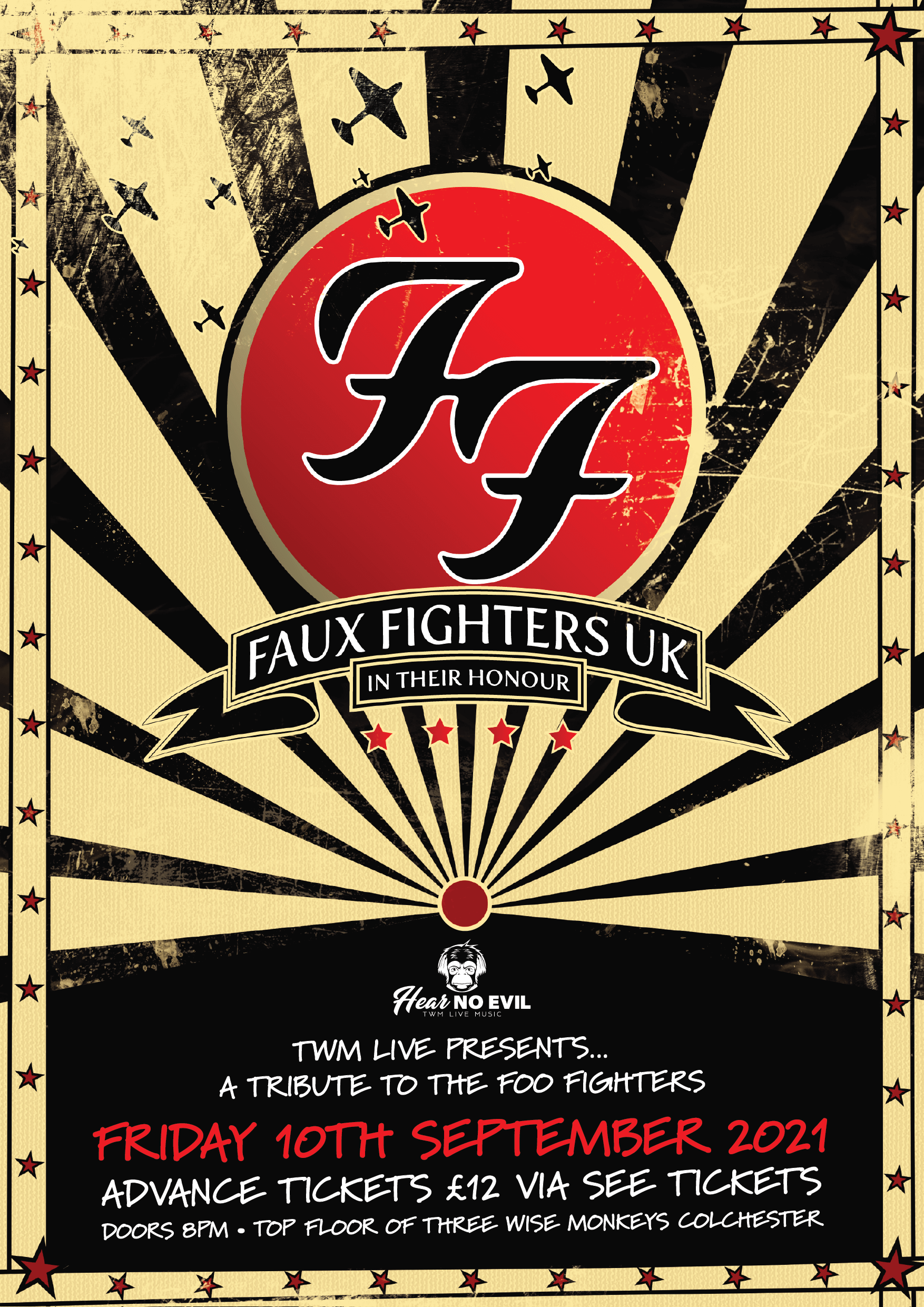 Faux Fighters Poster